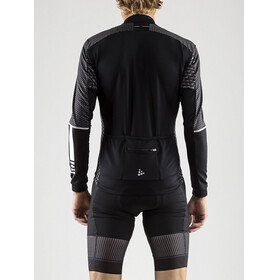 Craft Route LS Jersey Men Black/White